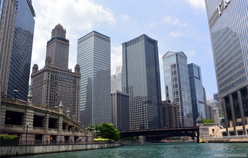 Чикаго с воды