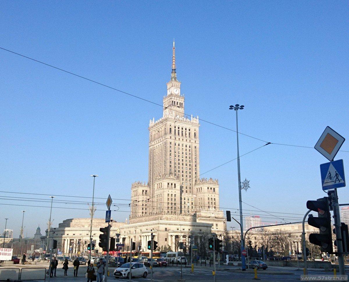 Достопримечательности Варшавы самостоятельно