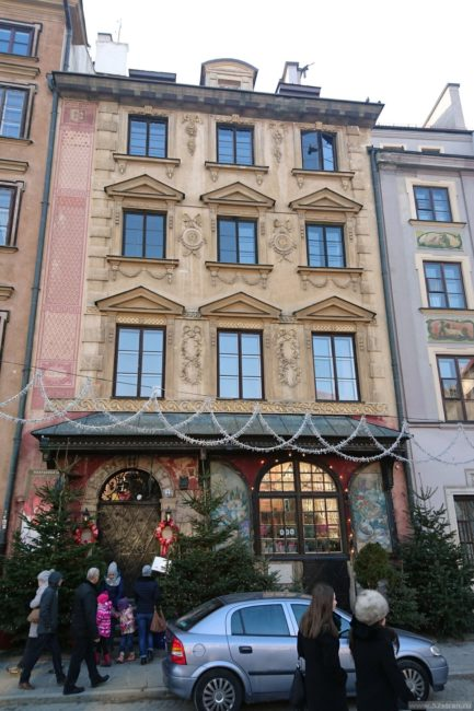 Достопримечательности Варшавы ресторан